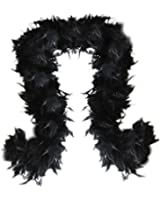 SACASUSA (TM) 100g Turkey Feather BOA Brand New in POLY BAGS ! Turkey Feather Chandelle Boa 6 feet long (11 colors to Pick)
