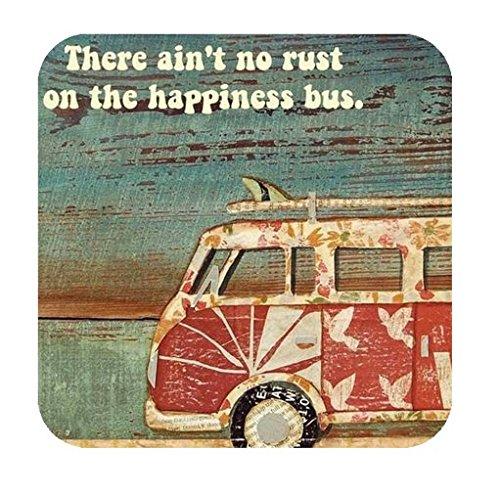 Vinyl Usa Shed - VW Bus Bumper Sticker, Travel Vinyl Sticker, USA Decal, Hippie Sticker, Volkswagen Sticker