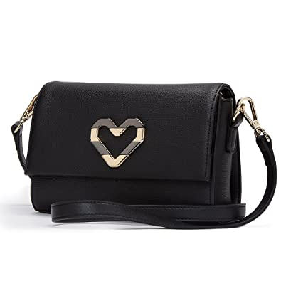 Laorentou Women S Leather Crossbody Bag Shoulder Bags Valentine S