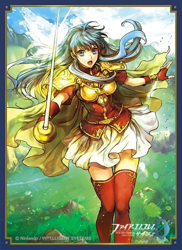 Fire Emblem 0 (Cipher) Eirika Card Game Character Mat Matted Sleeves Collection No.FE57 Anime Art by Movic