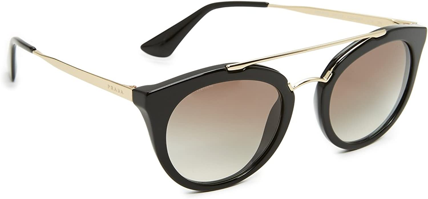 Prada Women's Round Aviator Sunglasses