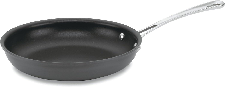 Cuisinart 6422-24 Contour Hard Anodized 10-Inch Open Skillet,Black