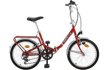 Bicicleta Plegable Orbita Eurobici 6v Acero