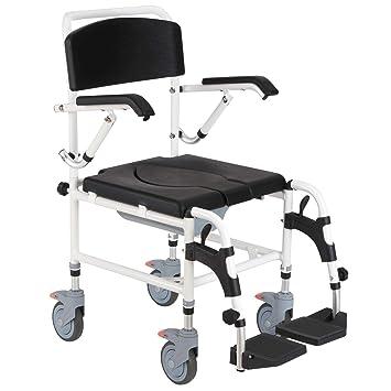 Amazon.com: Mobility Assist - Silla de inodoro, impermeable ...