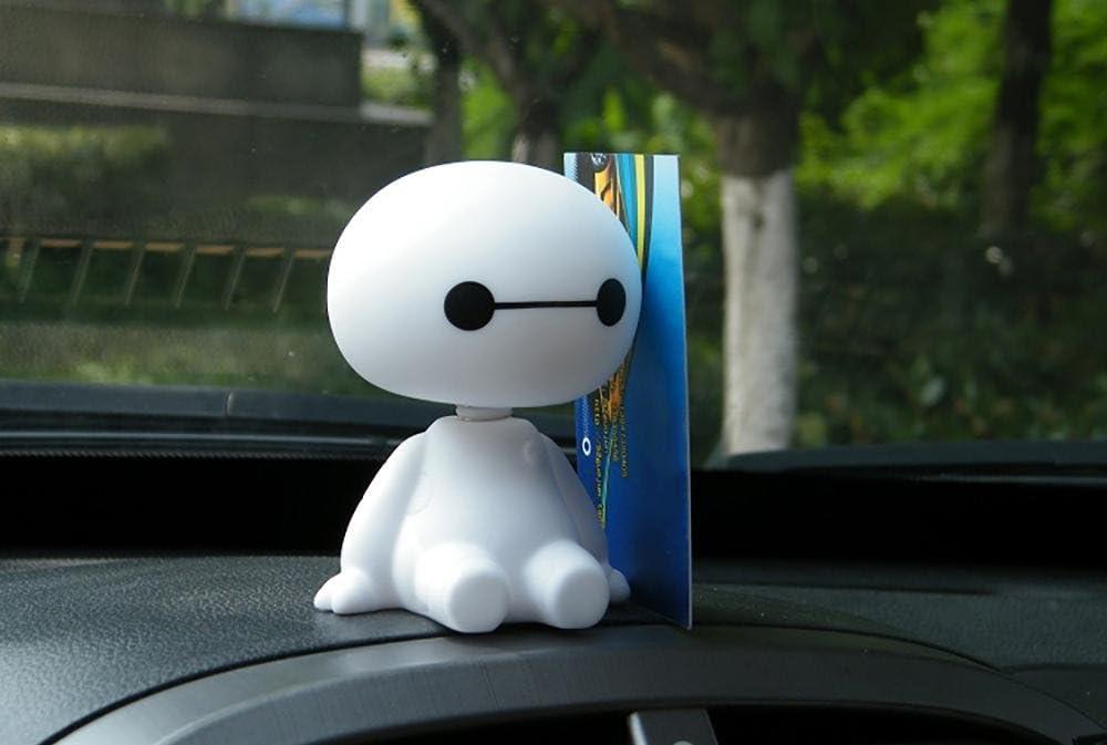 Robot tête Figurine decor voiture ornements Auto intérieur décorations automobil