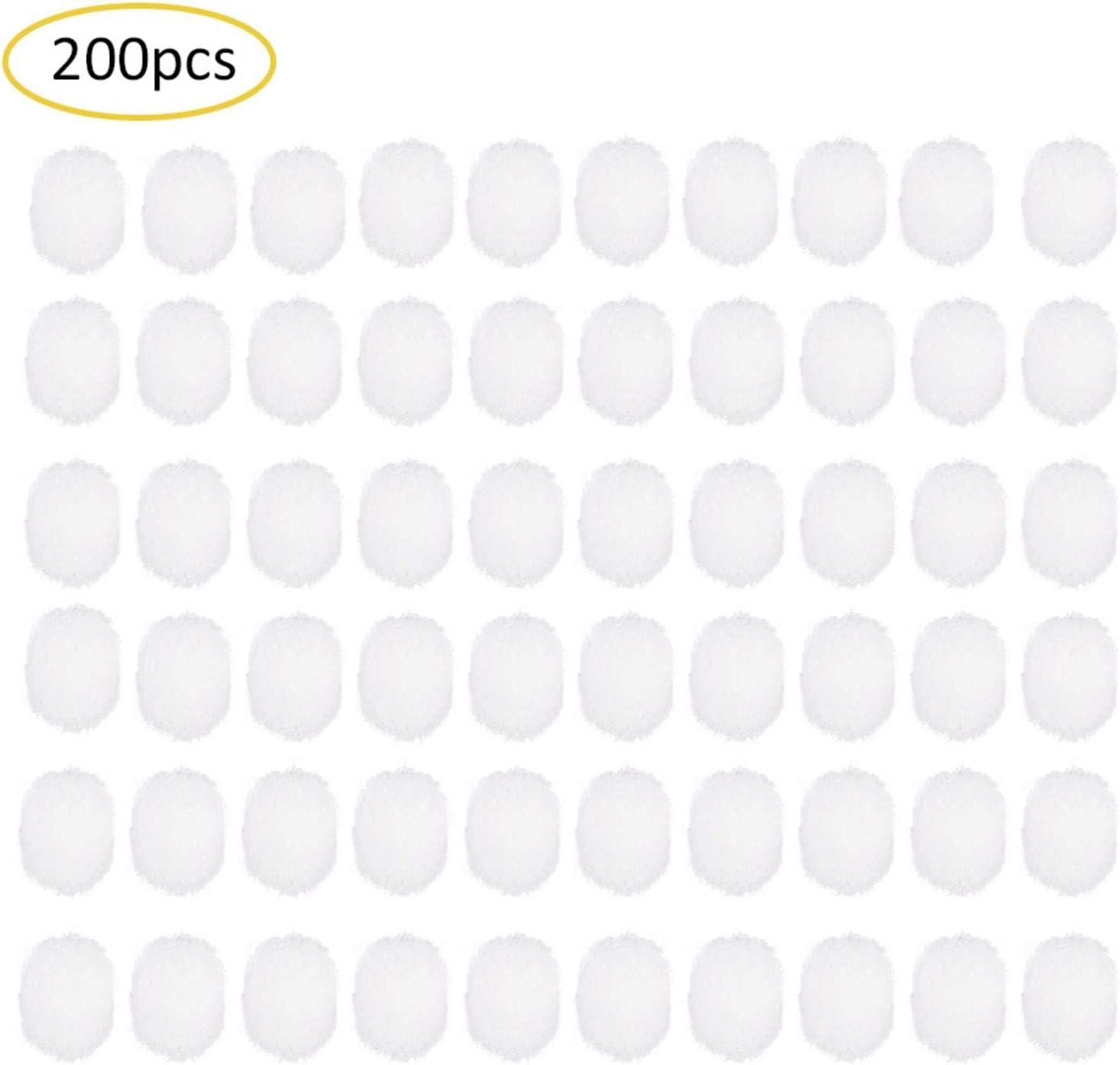 200PCS Coton Filtre Aspirateur Nasal B/éb/é Aspirateur Nasal Dispositif Jetable Filtre Coton Nez Nettoyant Accessoires D/égage Les Nez Bouch/és Rapidement Et En Douceur Remplacement Pour De Soin De