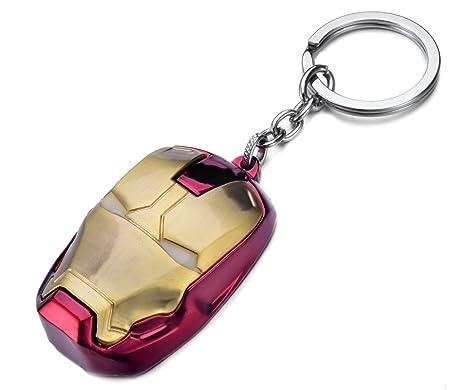 Llavero Iron Man, Métal, Avengers Marvel, Keychain, Keyring ...