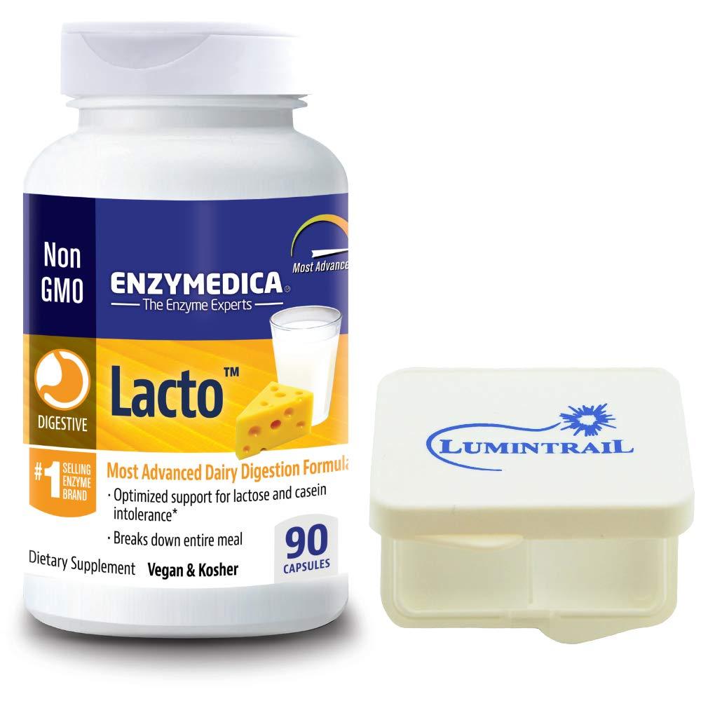 Amazon.com: Enzymedica – lacto, más avanzada lácteos ...