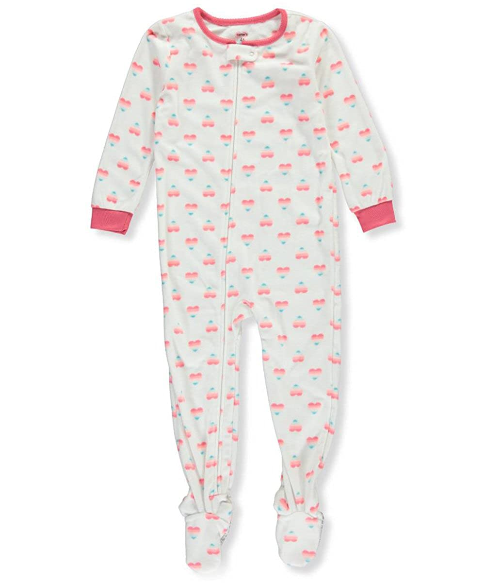 fe05ad07d Amazon.com  Carter s Baby Girls  1 Piece Fleece Sleepwear  Clothing