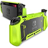 Mumba Dockable Case for Nintendo Switch, [Blade Series] TPU Grip Protective Cover Case Compatible with Nintendo Switch…