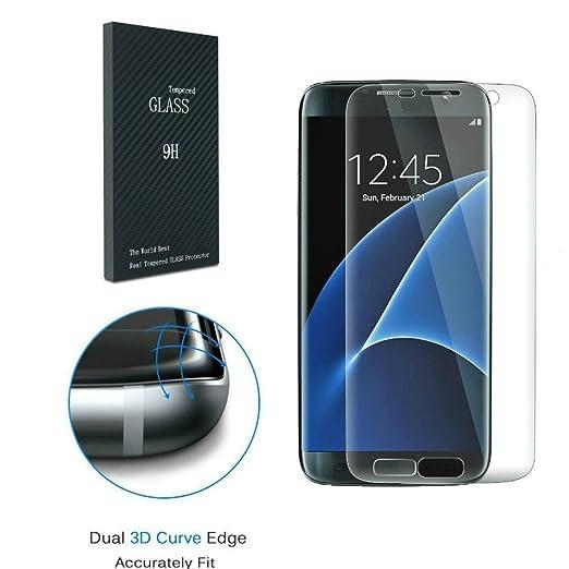 14 opinioni per Galaxy S7 Pellicola Protettiva, MisVoic 3D Curvo Temperato Temperato di vetro