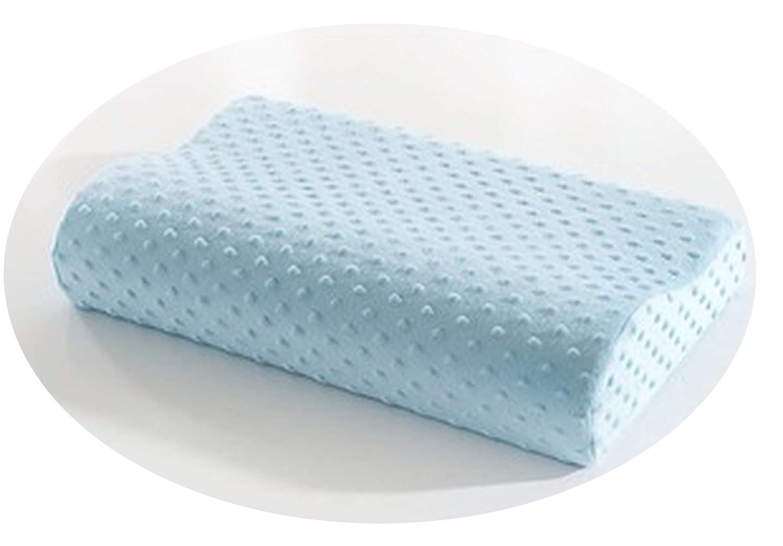 Cherryi ソフトトラベル低反発素材 スペースピロー 30x50cm 低反発素材 低反発枕 ブルー B07KJW1PHY ブルー