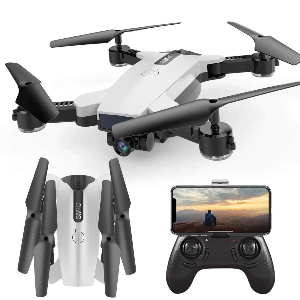 Promoción por tiempo limitado WWGG Quadcopter, zumbido Plegable, Retrato después de la cámara Dual Gestos luz de la Foto fijada Alto para los niños y los Principiantes