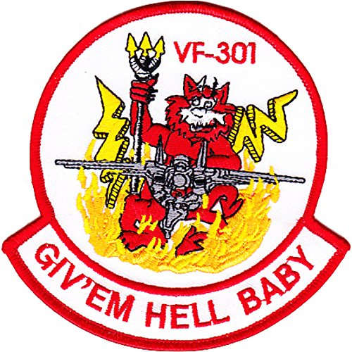 VF-301 Fighter Squadron F-14 Tomcat Patch