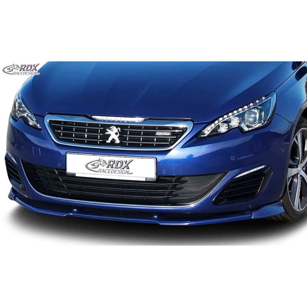 PU RDX Racedesign RDFAVX30716/spoiler anteriore vario-x peut 308/II GT//GTI 2013- nero