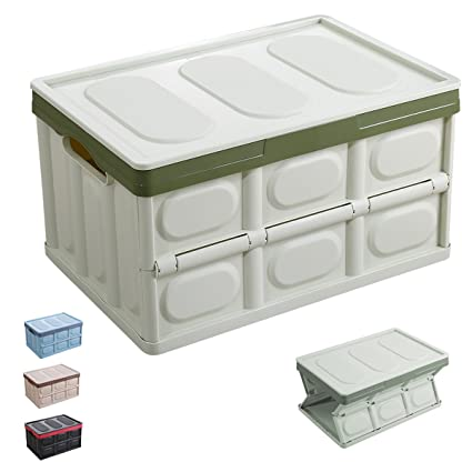 Charmant Euyzou Storage Bins Plastic Storage Containers U2013 Collapsible Storage Boxes  Plastic Bins Plastic Containers With Lids