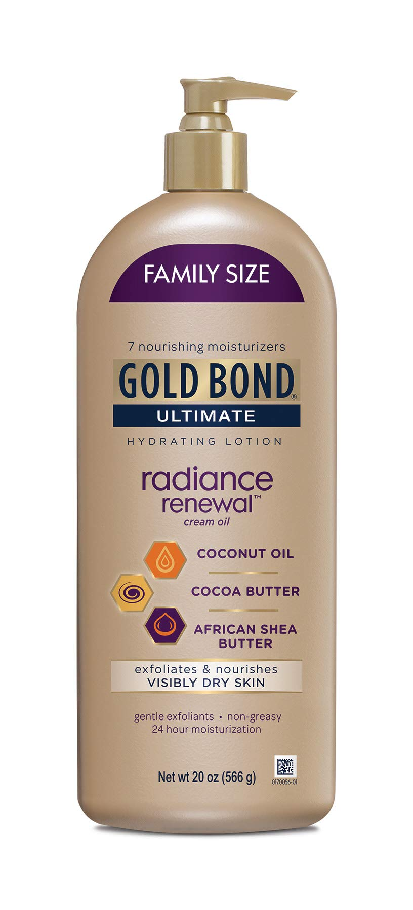 Gold Bond Ultimate Radiance Renewal for Visibly Dry Skin Lotion, 20 Ounce by Gold Bond