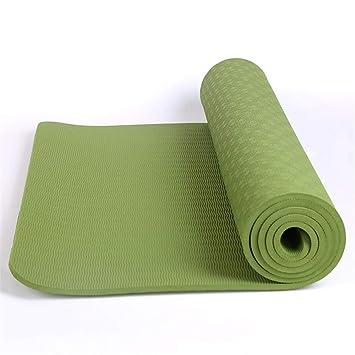 LLCP Antideslizante colchoneta de Yoga TPE, alargando ...