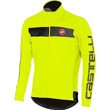 Castelli Chaqueta Ciclismo 2017 Raddoppia Amarillo Fluorescent (Xl, Amarillo): Amazon.es: Deportes y aire libre