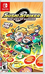 Help Musashi end the Empire's tyrannical monopoly of the world's sushi supply by becoming a Sushi Striker! Devour conveyor-belt sushi, matching plates and sushi types to defeat any enemy or boss who stands between you and victory. Befriend Su...