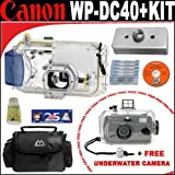 Canon WPDC40 Waterproof Case for the S60 & S70 Digital Camera + FREE Intova 35mm Daylight Sports Utility Waterproof Camera + Canon WWDC1 Weight for Waterproof and All Weather Cases + Deluxe DB ROTH Accessory Kit