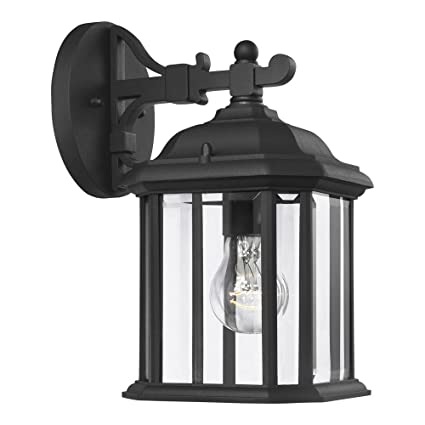 Sea gull lighting 84029 12 kent one light outdoor wall lantern with sea gull lighting 84029 12 kent one light outdoor wall lantern with clear beveled publicscrutiny Choice Image