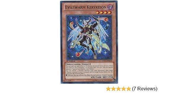 Yugioh Evilswarm Kerykeion LTGY-EN094 Super Rare 1st Edition Near Mint
