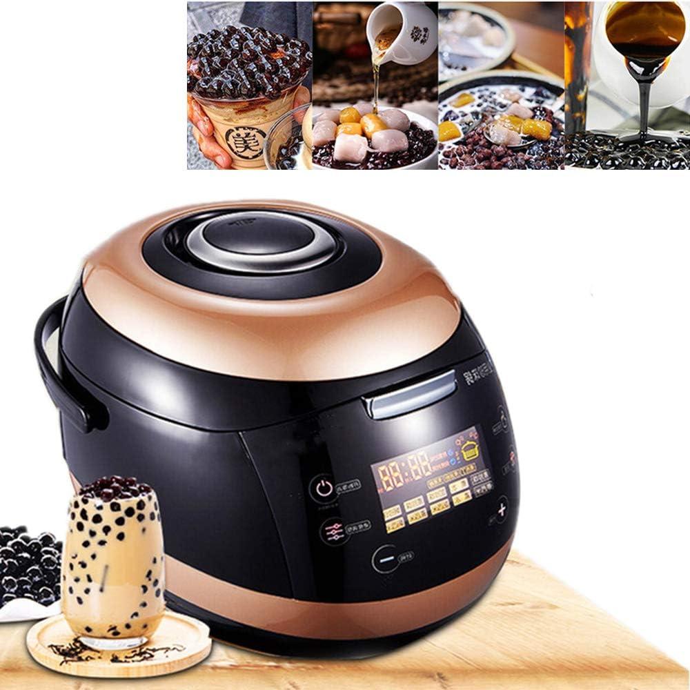 Angela Olla de Perlas Completamente automática Comercial, Fabricante de Perlas de té con Leche, Gran Capacidad, cocción, diseño Antiadherente Antiadherente, 5l, 17.7 * 13.8 * 12.2 Pulgadas: Amazon.es: Hogar