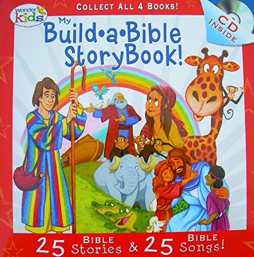 My Build A Bible Storybook With Bonus CD (Wonder Kids 25 Bible Stories)