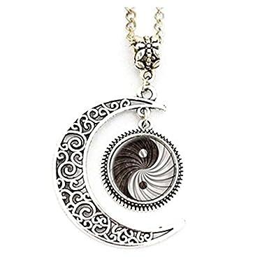 Yin Yang, fotografía luna colgante, Yoga arte, Yoga, luna ...