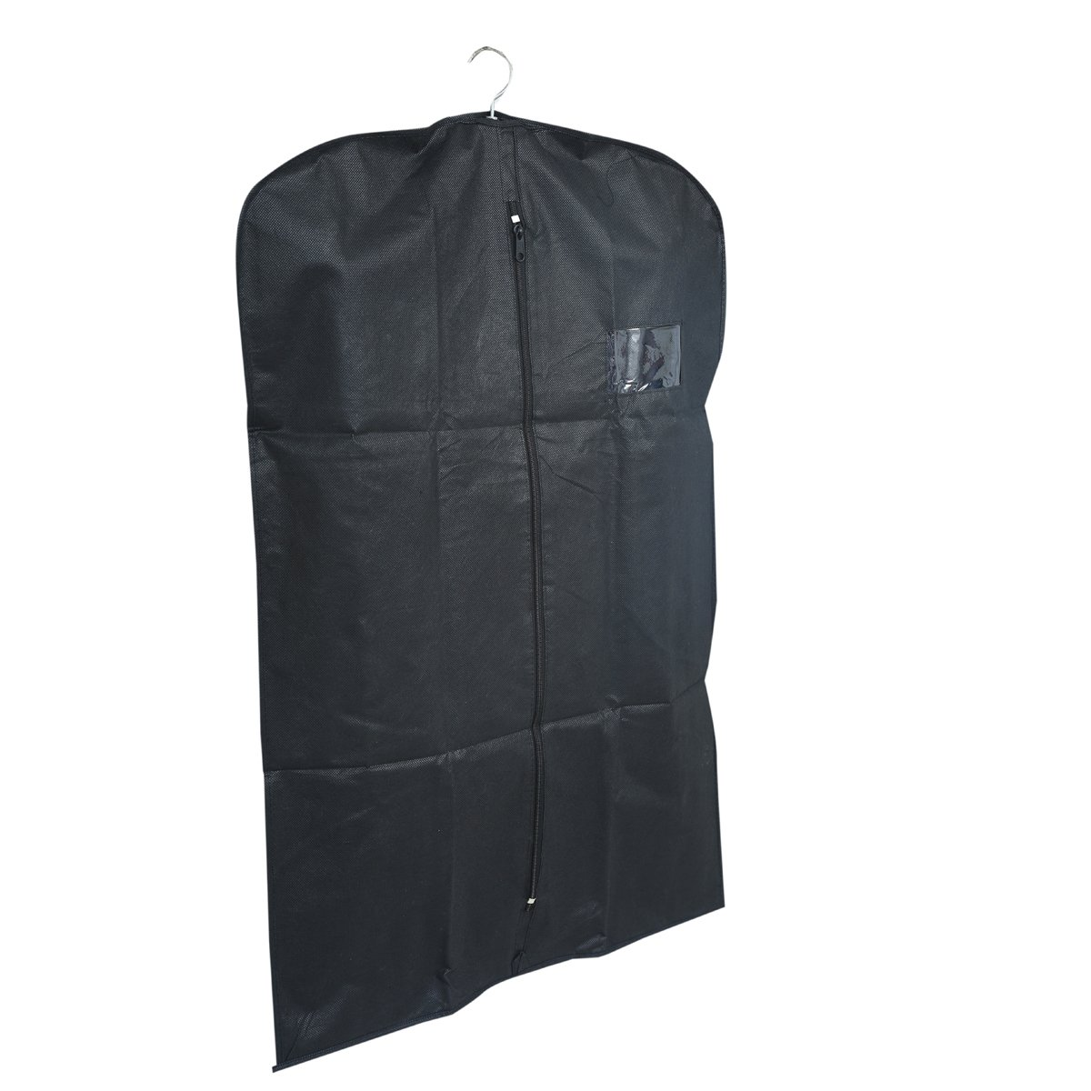 23aee31a57d3 Kuber Industries™ Men s Coat Blazer Cover Foldover Breathable Garment Bag  Suit Cover Set of 6 Pcs- Black  Amazon.in  Home   Kitchen