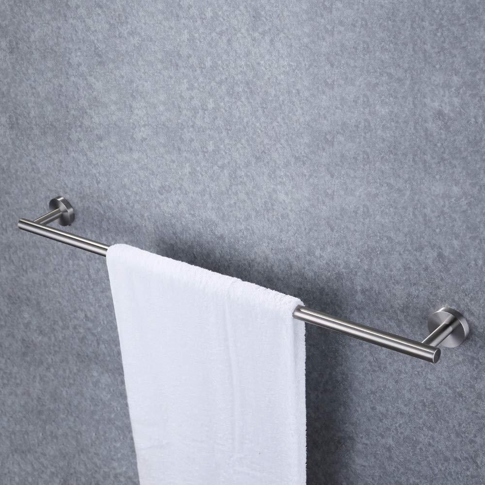KES 30-Zoll Doppelzimmer Handtuchstange Badezimmer Dusche Organisation Bad Dual Handtuch Hanger Inhaber Geb/¨/¹rstet SUS 304 Edelstahl Stahl Fertig stellen A2001S75-2