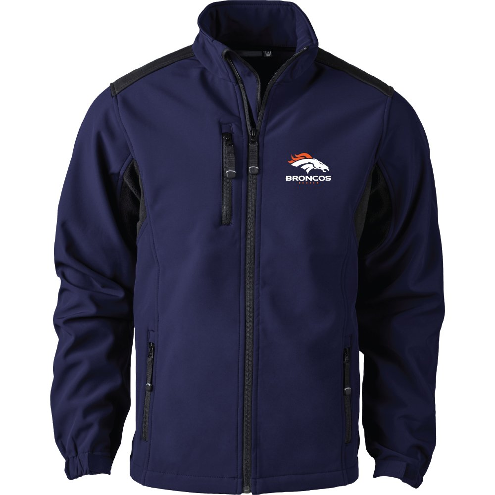 Navy XLarge NFL Mens Softshell Jacket