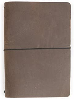 product image for Expedition Point Five Leather Notebook Dark Brown