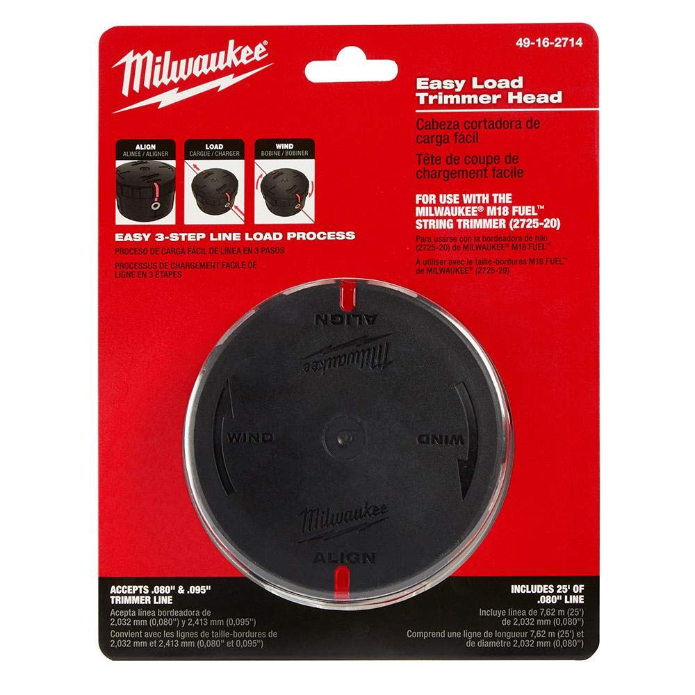 Milwaukee 49-16-2714 REPL EASYLD TRIMMER HEAD by Milwaukee