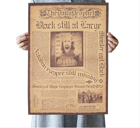 hzcl Cartel del Papel, Película Clásica Harry Potter Daily ...