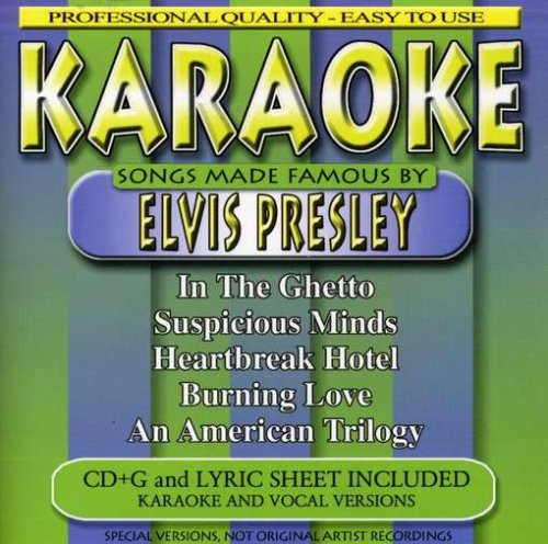 Karaoke: Songs Made Famous By Elvis Presley
