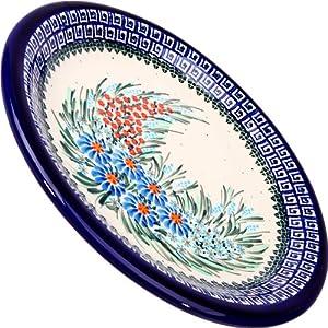Polish Pottery Ceramika Boleslawiec 1103/169 Dinner Plate 26, 10-1/4-Inch