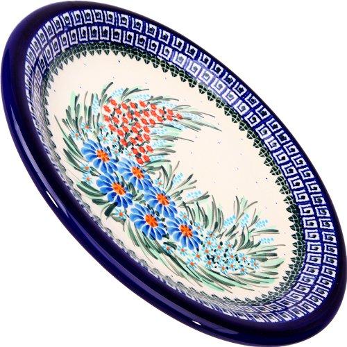 - Polish Pottery Ceramika Boleslawiec 1103/169 Dinner Plate 26, 10-1/4-Inch