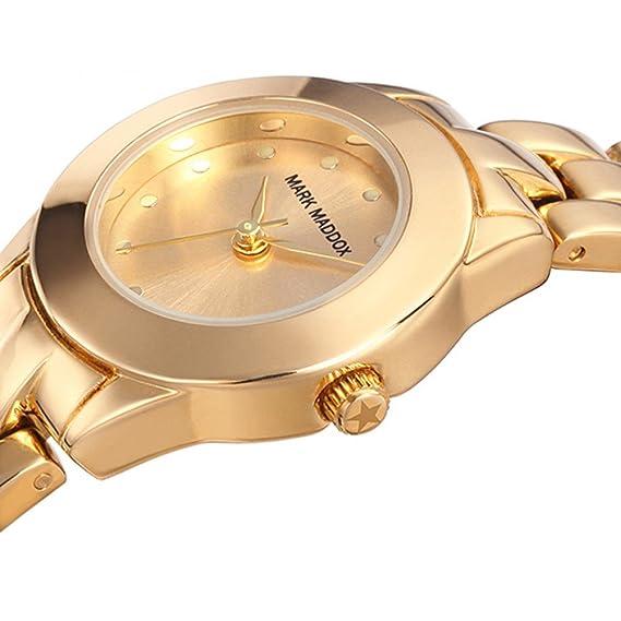 Amazon.com: RELOJ MARK MADDOX MF0008-27 Mujer + 2 PULSERAS Regalo: Watches