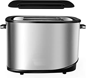Fully Automatic Toaster, Stainless Steel Body, Cancel, Defrost And Reheat Functions,Adjustable Browning Control,Self Centring Function,Built-In Storage Grill,Easy Cleaning