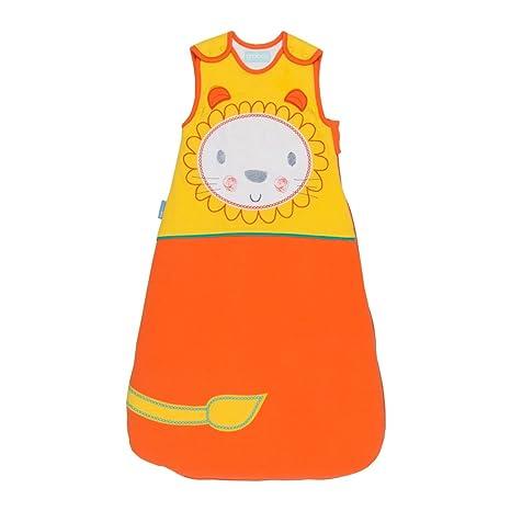 Gro León - Saco de dormir premium, para 18-36 meses, 98 cm