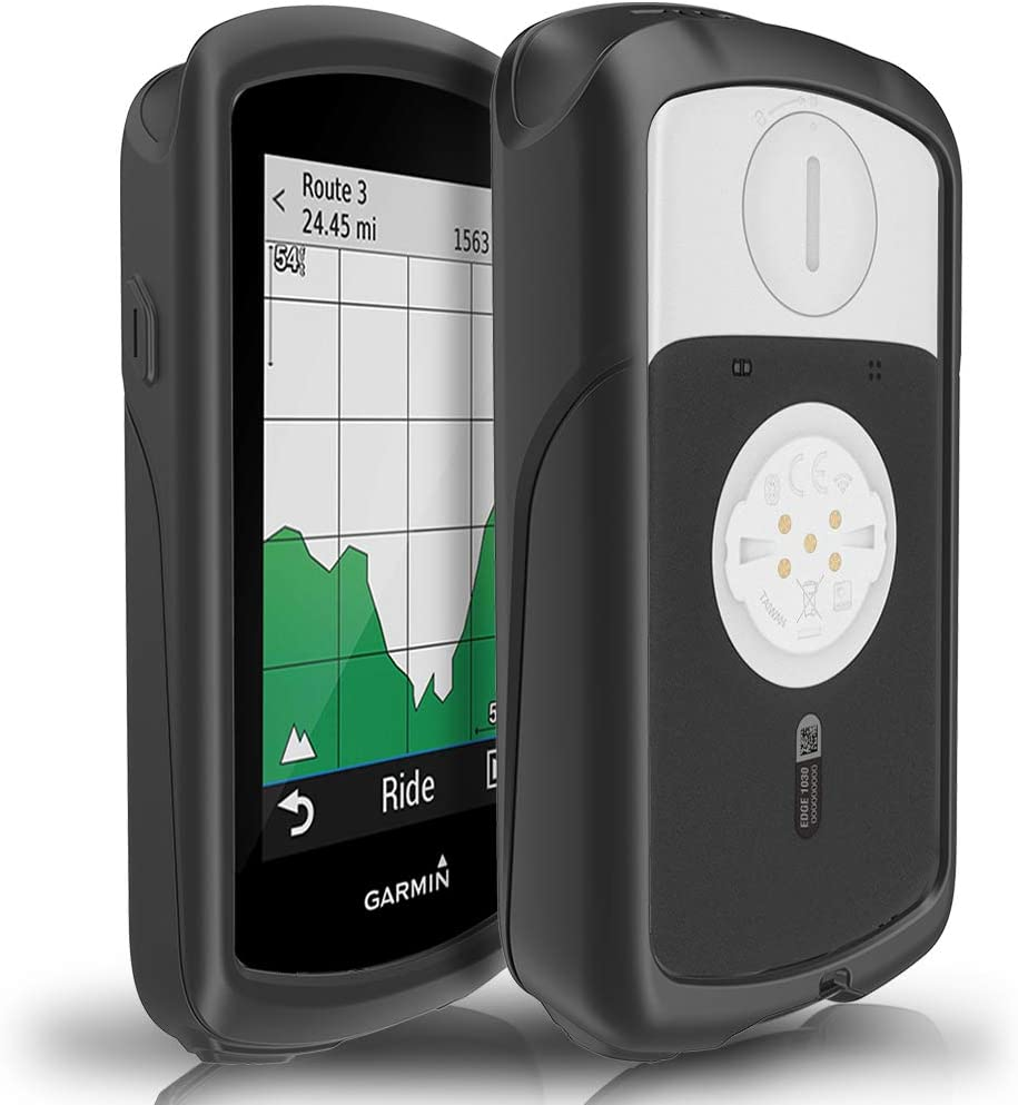 TUSITA Funda para Garmin Edge 1030 - Protectora de Silicona Skin - Accesorios para computadora con GPS