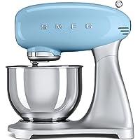 Smeg 50's Retro Stand Mixer, Pastel Blue - SMF01PBUK, 1 Year Warranty