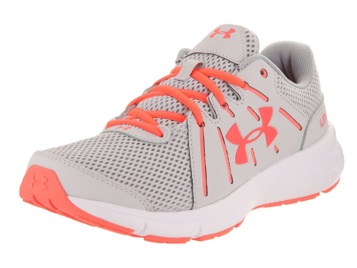 Under Armour Women's Dash 2 Running Shoe B01GPLHH9Y 7.5 B(M) US|Glacier Gray/White/London Orange
