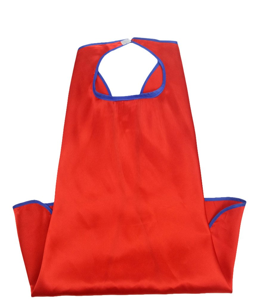 10pieces-Special Satin Boys&Girls Superhero Cape Any Color One Side Generic