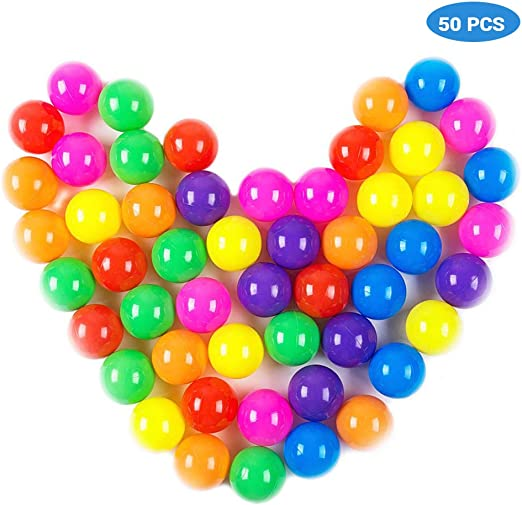 100PCS Colorful Soft Plastic Ocean Water Pool Ball Funny Baby Kid Swim Pit Toys