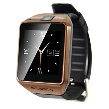 Gv08 Smart Watch Android Support Sim Tf Card Phone Call 1.54 ...