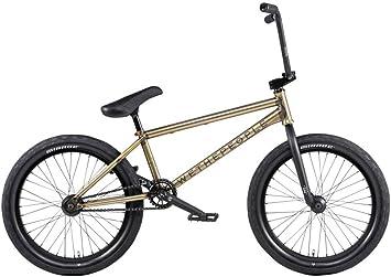 We The People Envy BMX Bike - Bicicleta de 20,5 Pulgadas, Color Dorado translúcido Mate: Amazon.es: Deportes y aire libre