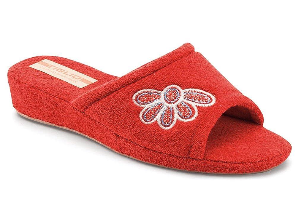 tiglio Pantofole Donna 1896 Rosso